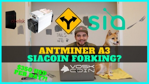 """Antminer A3 Profitability + Why SIAcoin should NOT Soft / Hard Fork their """"Decentralized Crypto"""""""