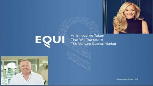 EQUI ICO – Bringing Venture Capital to the Blockchain