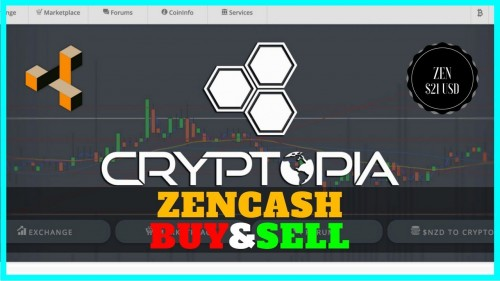 Cryptopia CryptoCurrency Exchange Tutorial How to Buy and Sell ZenCash/Bitcoin