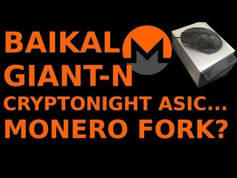 Baikal GIANT-N Cryptonight ASIC = Monero Algorithm Change? Electroneum