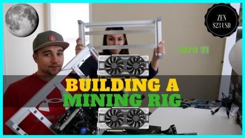 Building a GPU Mining Rig – 6x 1070 TI to Mine Zcash, ZenCash, and Vertcoin