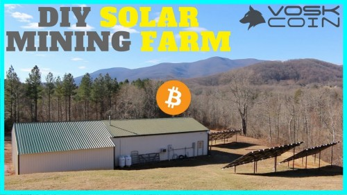 Cryptocurrency Solar Mining Farm – Inside the Operations of a Secret Crypto Farm