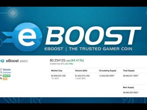 eBoost (EBST )The future of E-sports?