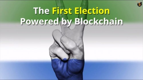 First National Election Powered by Blockchain