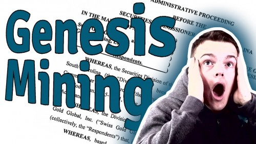 Genesis Mining CEASE & DESIST