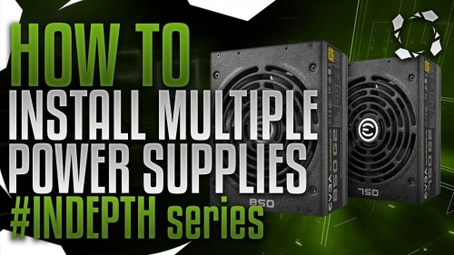 How To Bridge Multiple Power Supplies for Mining