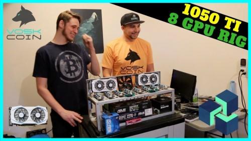 How To Build 8 GPU Mining Rig w/ 1050 TI's — The 1050 TI Best Budget GPU
