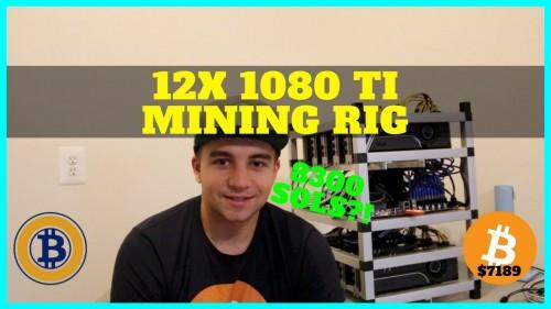 How To Build a 12+ Card GPU Nvidia 1080 TI Mining Rig – 8300 sols