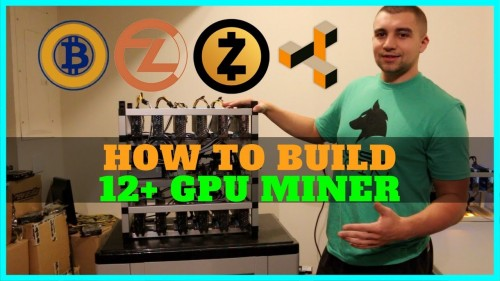 How To Build a 12+ GPU Mining Rig – Ultimate 1080 TI Miner Guide 8400 Sols