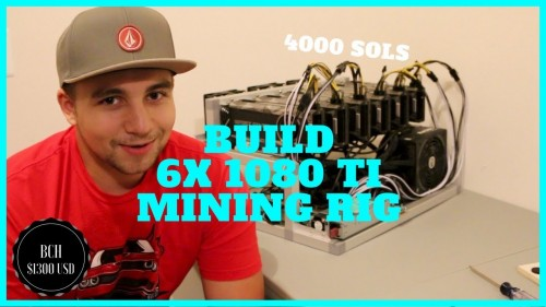 How to Build a 6x 1080 TI Mining Rig with ATX & Server PSU's