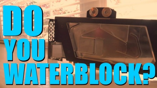 How To Install a GPU Waterblock | Titan X Pascal