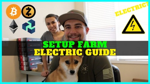How To Setup Crypto Mining Farm in House + Electric Setup + Ethernet