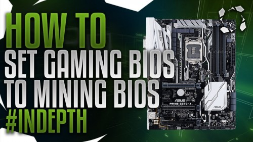 How To Turn Game Bios Into Mining Bios Z170/Z270 To Recognize All Your GPUs