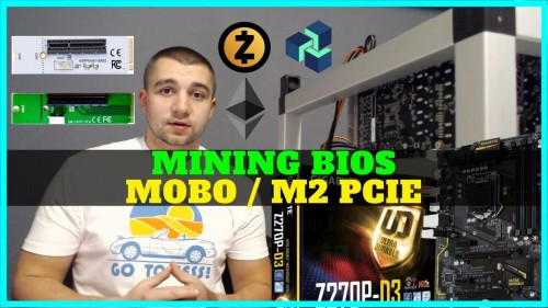 How To Update Motherboard Bios for Mining – M.2 PCIE Adapter Settings – GIGABYTE GA‑Z270P‑D3