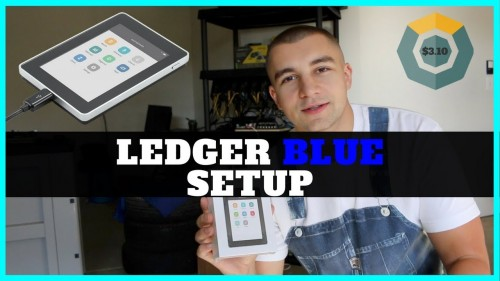 Ledger Blue Crypto Hardware Wallet – Initial Setup & Guide