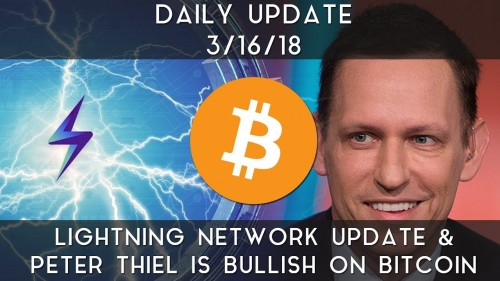 Lightning Network update & Peter Thiel is bullish on Bitcoin