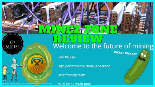 MineZ Zone ZenCash Mining Pool Review – ZEN / ZCL / BTCZ / HUSH