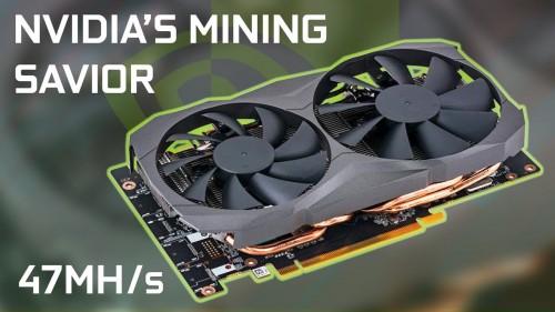 New Dedicated Mining GPU From Nvidia