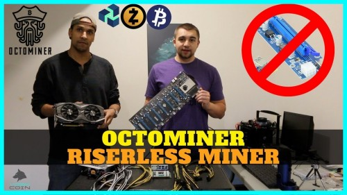 Octominer Review – 8x Riserless GPU Mining Rig Build – Build Crypto Miner in ~5 Minutes