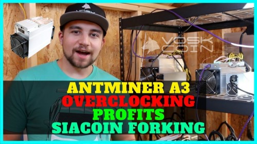 Official Antminer A3 Review w/ Overclocking – ASIC Mining Profits + Siacoin Forking?