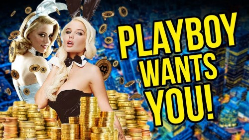 Playboy Wants Your CryptoCurrency