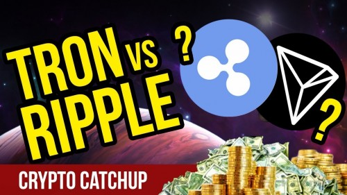 RIPPLE VS TRON?! – Which Will Grow Faster?