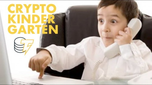 RUSSIA HAS A KINDERGARTEN FOR CRYPTOTRADING?