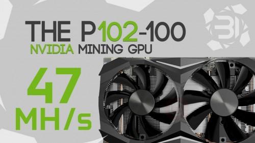 The 47Mh/s+ P102-100 Crypto Mining GPU