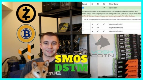 The Fastest Equihash Miner DSTM NOW on smOS – DSTM Miner Guide