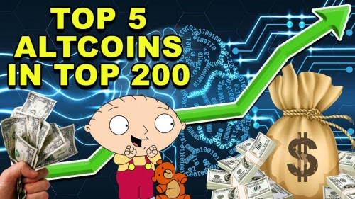 Top 5 Altcoins! – Best Altcoins from 101 – 200 Rank! – CryptoCurrency Altcoins
