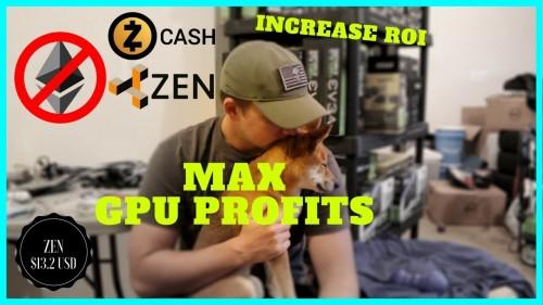 Why I DONT Mine Ethereum for Best GPU Mining Profits – ZCash to ZenCash