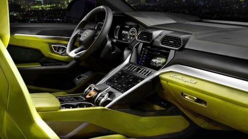 2018 Lamborghini URUS – INTERIOR