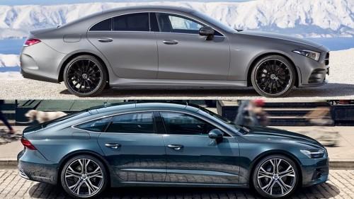 2018 Mercedes CLS Vs 2018 Audi A7