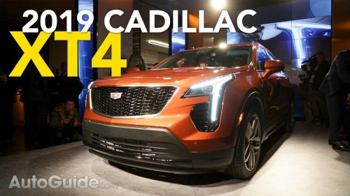 2019 Cadillac XT4 Debuts: 4 Things You Should Know | 2018 New York Auto Show