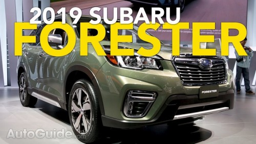 2019 Subaru Forester First Look – 2018 New York Auto Show