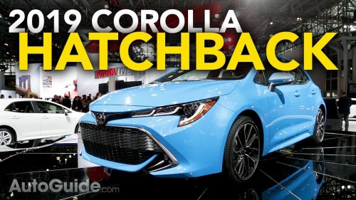 2019 Toyota Corolla Hatchback First Look – 2018 New York Auto Show