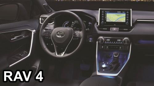 2019 Toyota RAV4 – INTERIOR