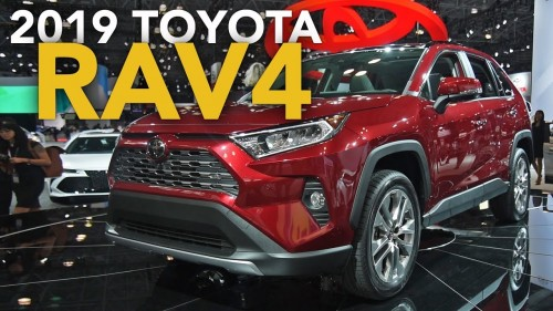 2019 Toyota RAV4 First Look – 2018 New York Auto Show