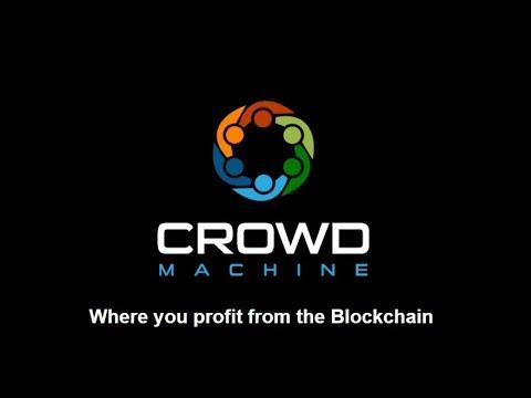 ICO: Crowd Machine – Powers Blockchain
