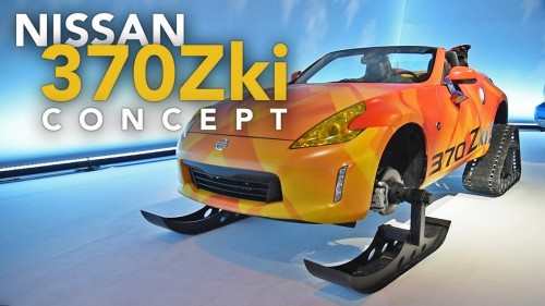 Nissan 370Zki & Armada Snow Patrol Concept Cars