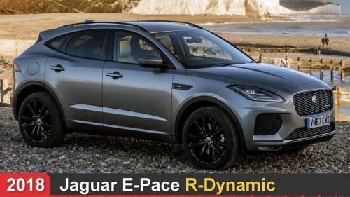 2018 Jaguar E Pace R-Dynamic