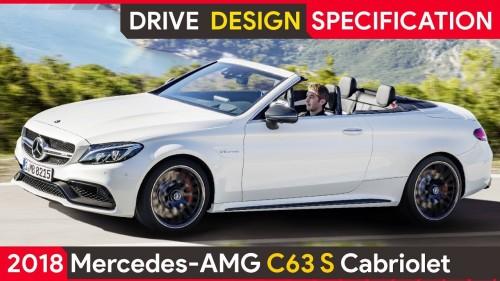 2018 Mercedes AMG C63S Cabriolet