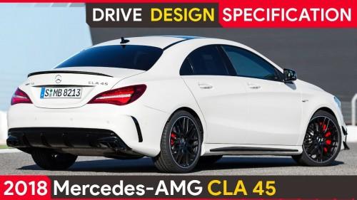 2018 Mercedes CLA 45 AMG