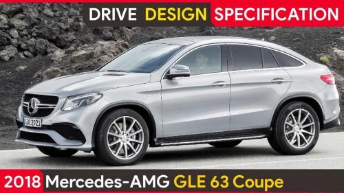 2018 Mercedes GLE 63 AMG Coupe