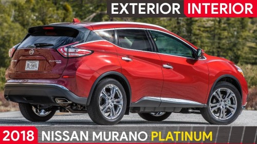 2018 Nisssan Murano Platinum