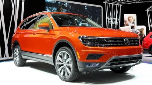 2018 Volkswagen Tiguan Long-wheelbase