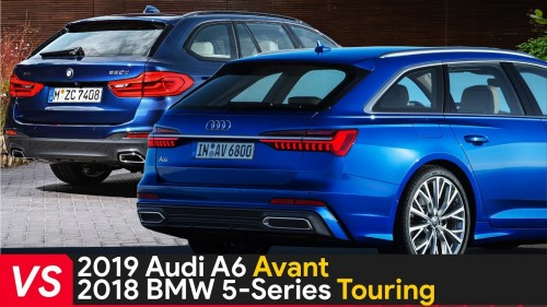 2019 Audi A6 Avant Vs 2018 BMW 5 Series Touring