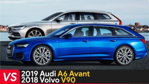 2019 Audi A6 Avant Vs 2018 Volvo V90