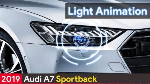 2019 Audi A7 Light