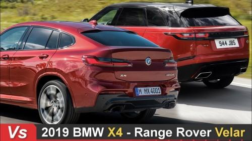 2019 BMW X4 Vs Range Rover Velar